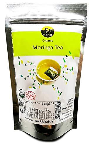 Moringa Tee, 100% aus bilologischem Anbau, 30 x 1,4g Teebeutel