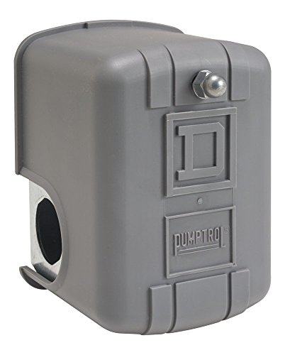 """Square D by Schneider Electric 9013FHG49J59X Air-Compressor Pressure Switch, 175 psi Set Off, 40 psi Fixed Differential, 1/4"""" NPT 4-Way Flange, 2-Way Release Valve"""