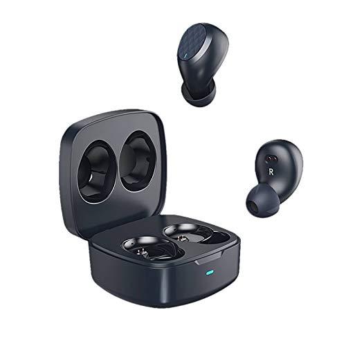 Auriculares Bluetooth, Aiwons Auriculares Inalámbricos Bluetooth 5.0 Sonido Estéreo Auricular Mini Twins In-Ear Auriculares Carga Rapida Resistente al Agua con Caja de para iPhone/Android