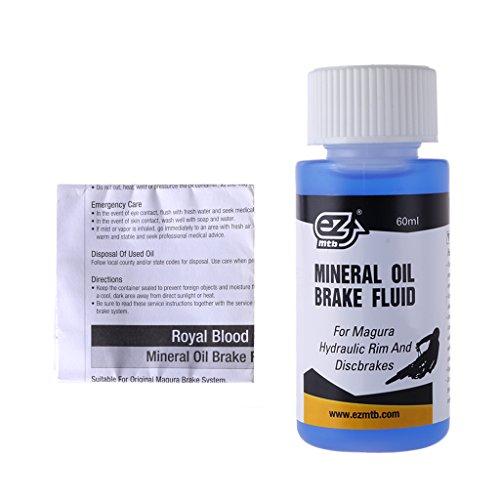 Fogun 60ml Fahrrad Scheibenbremsöl für Magura Hydraulisches Mineralschmiermittel Mountainbike