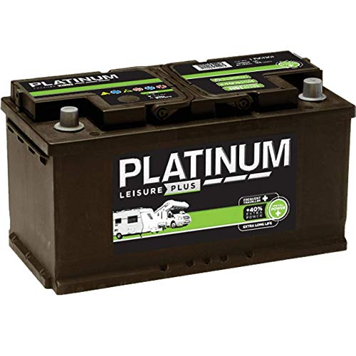 Platinum 12V 100AH Leisure Battery Low Height L354mm X W175mm X H190mm LB6110L - NCC Approved - 3 Years Warranty