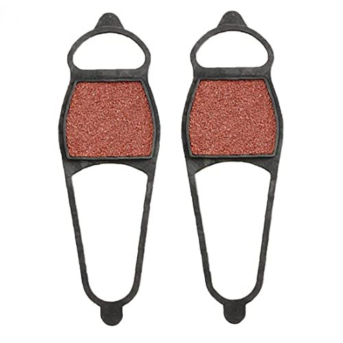 PJKKawesome Cubierta Zapata Nieve del Hielo Ante Lado Delantera Anti Deslizamiento Gruesa Gruesa sobre Zapato para Botas/Zapato, para Caminar Aire Libre Que