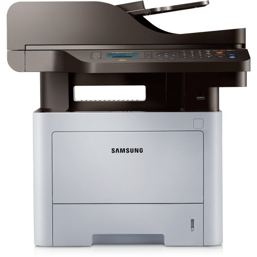 Samsung ProXpress SL-M4070FR Laser Multifunction Printer - Monochrome - Plain Paper Print - Desktop - Copier/Fax/Printer/Scanner - 42 ppm Mono Print - 1200 x 1200 dpi Print - 42 cpm Mono Copy LCD - 1200 dpi Optical Scan - Automatic Duplex Print - 300 sheets Input - Gigabit Ethernet - USB