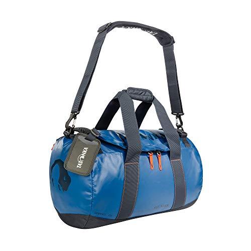 Tatonka Barrel XS Reisetasche - 25 Liter - wasserfeste Tasche aus LKW-Plane mit großer Reißverschluss-Öffnung - 25l - Damen und Herren - blau