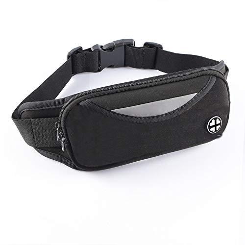 gumeng Lauftaschen Sport Handytaschen Außenreittaschen mit wasserdichter Handytasche schwarz 10 * 22cm