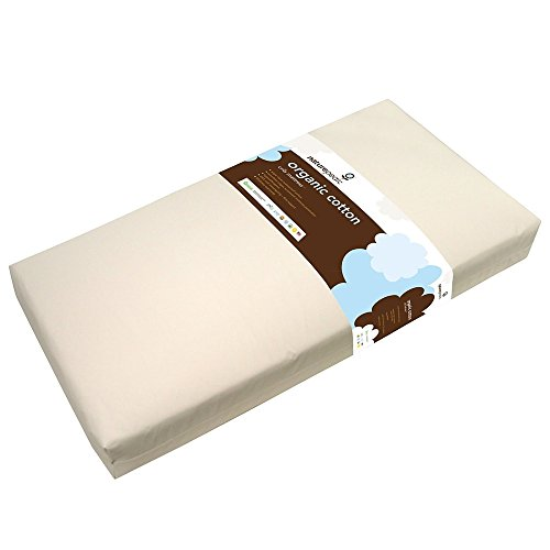 Image of Naturepedic 2 Stage Classic Seamless Crib Mattress