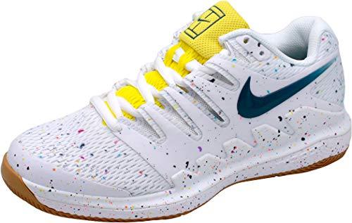 Nike Damen Zoom Air Vapor X HC Tennisschuhe, Weiß (White/Valerian Blue-Opti Yello 109), 42 EU