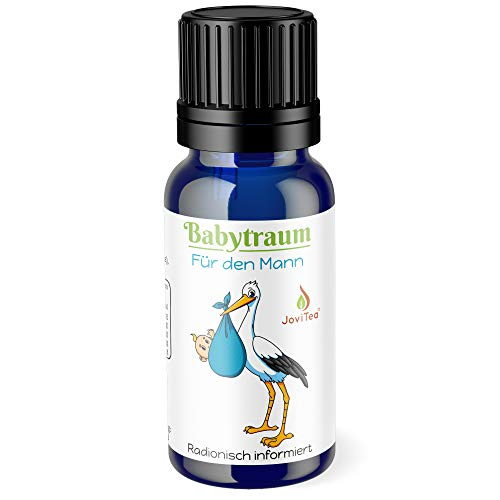 JoviTea® Babytraum Globuli - Homöopathie für den Mann in der Kinderwunsch Phase - traditionelle Rezeptur - Made in Germany 10g