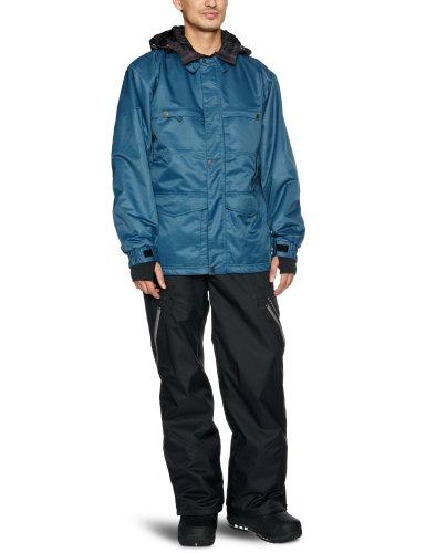 SANTA CRUZ Kingdom Veste de ski pour homme Steel Blue x-large