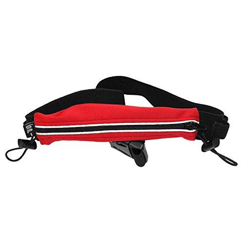 Spibelt S Original pour Endurance Series with Black Zipper Sac de Course, Red, XL