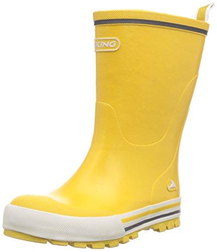 viking Unisex-Kinder Jolly Gummistiefel, Yellow, 26 EU