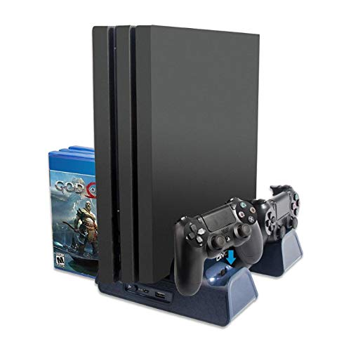 Yyooo PS4/PS4 Slim/PS4 Pro Game Console Accessories PS4 ...