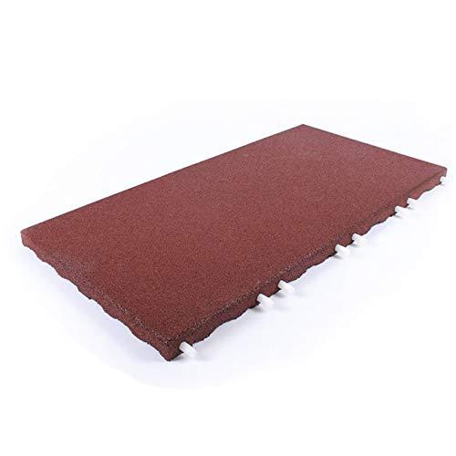 Rubber United Stallmatte rot 100x50x4cm | Stallmatten | Gummimatten