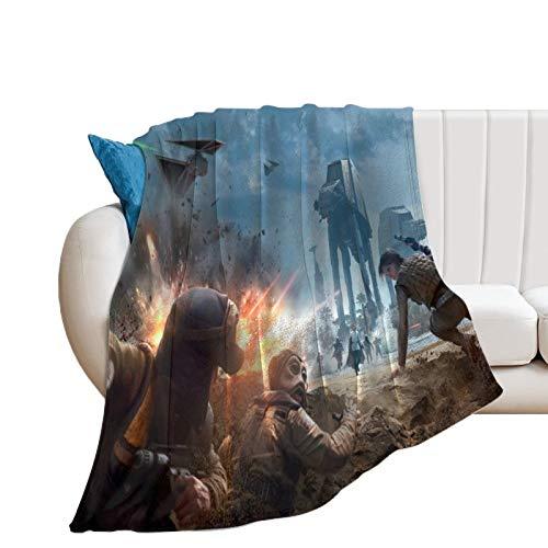 Confortevole e leggera Star Wars Movie Battlefront 2015 morbida coperta per divano letto 200 x 180 cm