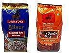 Double Deer Zeera Samba / Seeraga Samba Rice / Jeera Samba & Silver Basmati Rice Combo