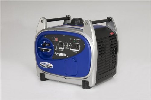 Yamaha EF2400iSHC, 2000 Running Watts/2400 Starting Watts, Gas Powered Portable Inverter