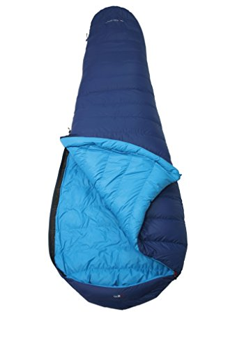 YETI Tension Mummy 500, Royal Blue/Methyl Blue Daunenschlafsack Schlafsack, Größe XL