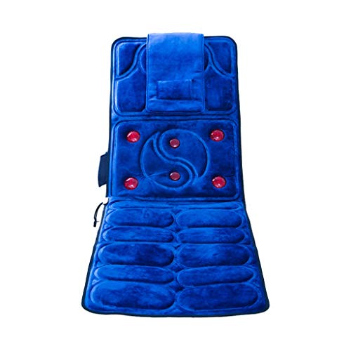 Back Massagers Massage Cushion Cervical Massager Home Multi-Function Massage Blanket Car Neck Shoulder Massage Cushion Body Vibration Kneading Cushion Family Best Gift