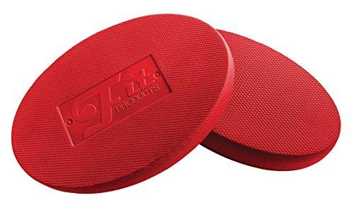 FitProducts Oval Balance Pads: Ideal für Physiotherapie, Pilates, Yoga, Kampfkunst Balance/Ausdauer/Kernstabilität/Krafttraining, Bewegungsrehabilitation und vieles mehr! (Lila)