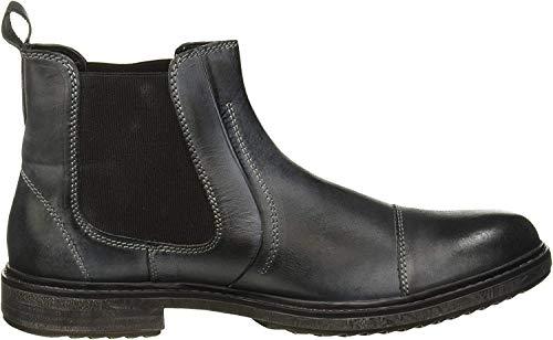 lumberjack Herren Theo Chelsea Boots, Schwarz (Black Cb001), 39 EU