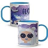 LolaPix Tazas Personalizadas Nombres. Tazas Personalizadas. Tazas Infantiles plástico. Varios diseños. Lunar