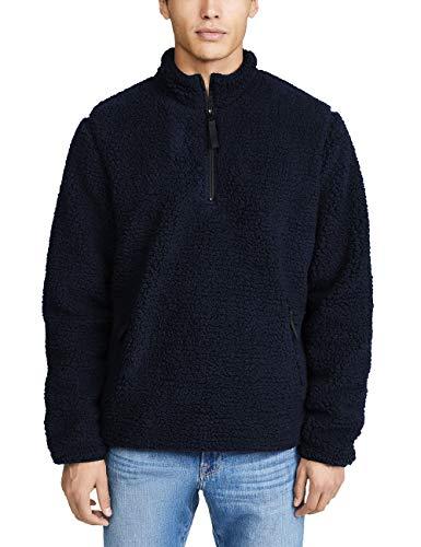 Light Blue Sherpa Jackets Men