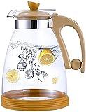 FXLYMR Teetassenkessel Home Tee Wasserkocher, Glaskaraffe Aus Glas Krug Wasser Karaffe Mit Deckel...