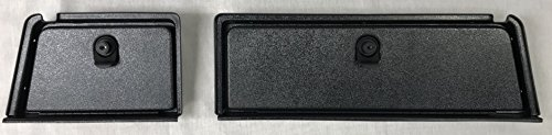 GMT Inc Club Car DS EZ Install Golf Cart Locking Glove Box Door Set in Black (FITS 1981 and UP DS Models ONLY) (Will NOT FIT Precedent Models)