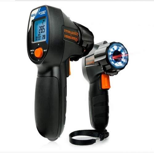 HT3302 Infrarood thermometer Reticolo Laser UV-lamp Area HA003302