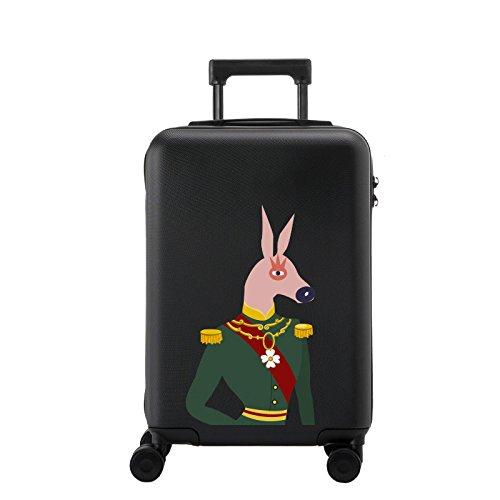 Lyl Maleta ligera de la maleta TSA Lock PC Funda rígida de la bolsa de viaje Carry on Luggage Equipaje manual con las ruedas de la rotación 360⁰, 3 tamaños - caso de la maleta 20,24,28 pulgadas aproba