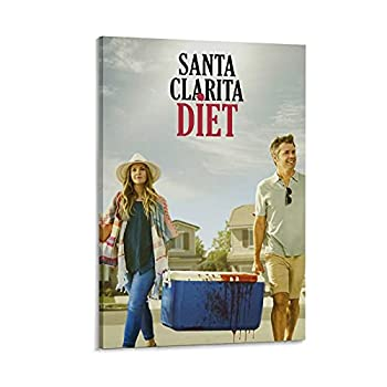 Santa Clarita Diet TV Series 2n Poster Decorative Painting Canvas Wall Art Living Room Posters Bedroom Painting 08x12inch 20x30cm