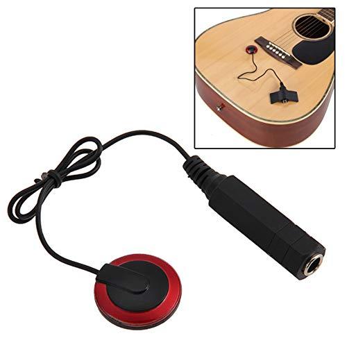 Gitaaropname 2 delen/pakket zelfklevende piëzocontact microfoon pickup converter voor akoestische gitaar ukelele viool klassieke viool ukelele, mandoline, banjo, cello