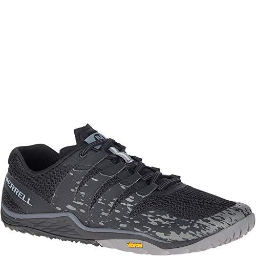 Merrell Trail Glove 5, Zapatillas Deportivas para Interior para Hombre, Negro (Black), 43 EU