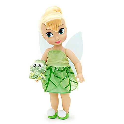 Offizielle Disney Tinkerbell 38cm Animator Kleinkind Puppe mit Zubehör Croc