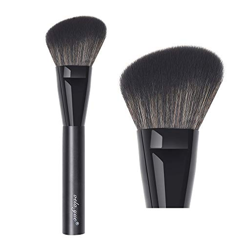 velayue Angled Blush Brush Face Powder Blusher Bronzer Highlighter Contour Makeup Brush