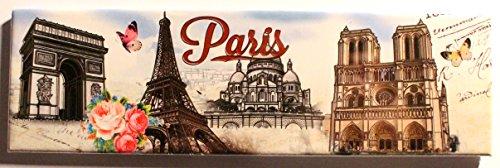 AKER MGA24 Magnet Aimant frigo Cuisine Souvenir France Paris Cadeaux 17X5cm