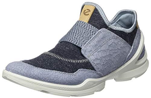 ECCO Damen BIOMSTREETW Sneaker Slip On, Blau (Dusty Blue/Marine 51746), 35 EU