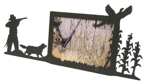 Corn Field Pheasant Hunt 3X5 Horizontal Picture Frame