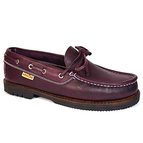 Zapatos Apache 412 Burdeos - Color - Burdeos, Talla - 43