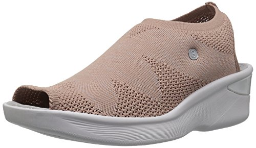 BZees Women's Secret Sandal, Blush Knit, 9.5 M US