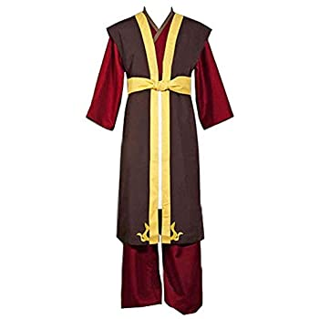 Men s Avatar The Last Airbender Prince Zuko Outfit Cosplay Costume Princess Azula Costume fire Nation fire Lord Cosplay