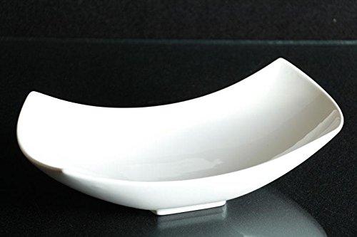 Schüssel Schale Porzellan weiss Schälchen Obstschale Dekoschale ca. 29/13 cm