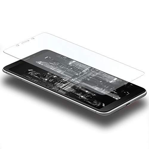 MYCASE 1x Bildschirmschutz Folie für Xiaomi Redmi 6A   Echt Glas   0,3 mm Dünn