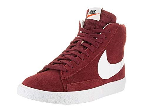 Nike Herren 429988-603 Basketballschuhe, Rotes Team Rot Weißer KauGummi Hellbraun, 47.5 EU