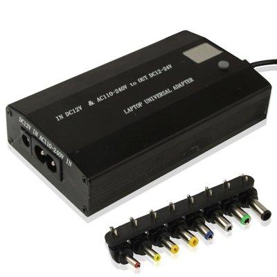Zhangl Adaptador de Corriente Adaptador AC/DC Universal For computadora portátil de 100W, Conveniente Voltaje de Intercambio, con Puerto USB de 5V Adaptador de Corriente