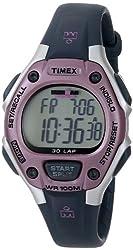 cheap Timex Ladies Iron Man Medium Digital Quartz 30 Circle Gray / Pink – T5K020