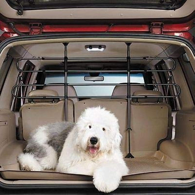 FidgetFidget Pet Safety Auto Barrier Dog Car Back Seat Folding Fence Car Truck Van Divider
