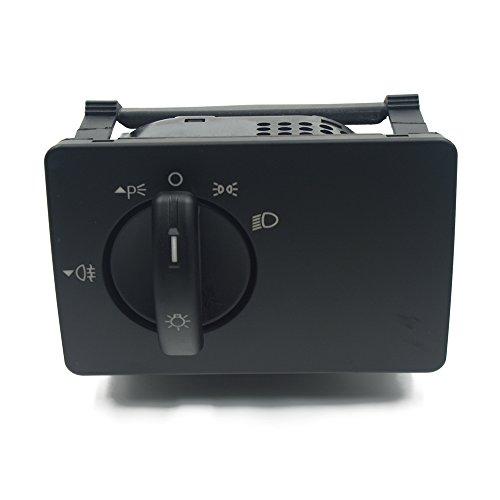 ASDFHUIOX Interruptor de Faros de la lámpara de Niebla/Ajuste para Ford Focus MK 2 (Color : Black)