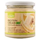 Protein Cream Veg Cioccolato Bianco - Crema Proteica Spalmabile Vegana Col 30% Di Proteine Vegetali – 100% Vegetale - Con Anacardi E Mandorle - Senza Glutine - Low Carb - 250 G - Ultimate Italia