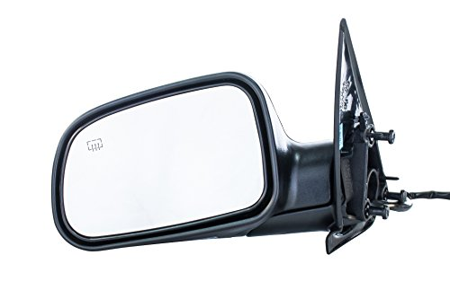 Dependable Direct Left Driver Side Textured Heated Mirror for 99-04 Jeep Grand Cherokee - Parts Link # CH1320169